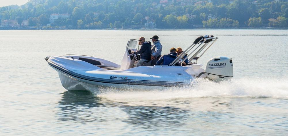 Zar 59 SL Limited Sea Trial