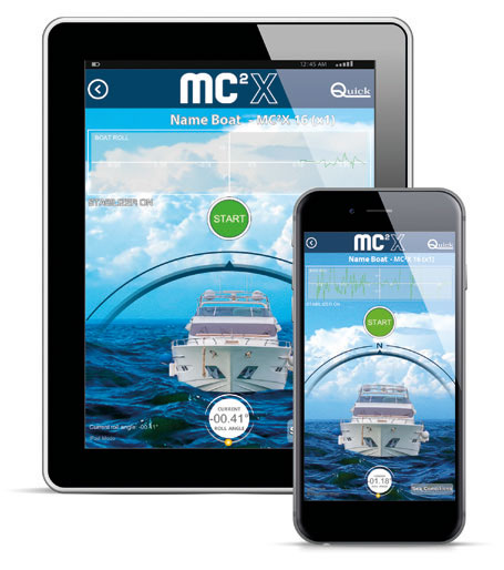 MC2X App for tablet and smartphone