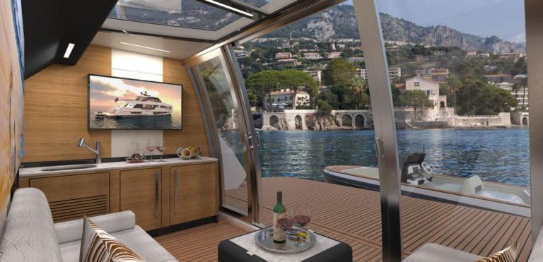 Ocean Alexander 90R, stern rendering