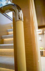 Ocean Alexander 90R, wood essences