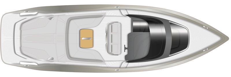 Princess R35, main deck