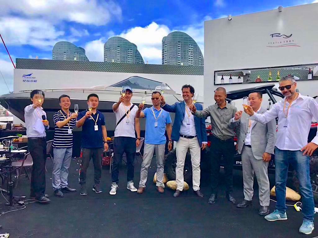 Rio Yachts' team