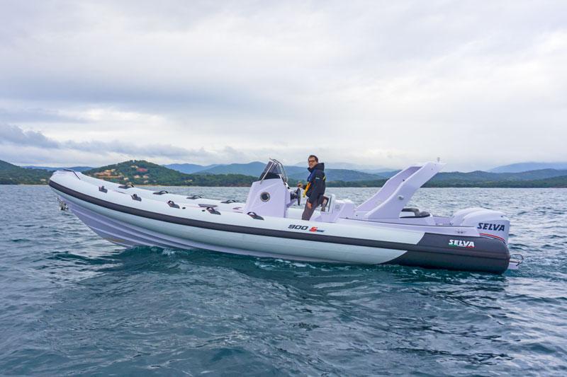 Selva Marine D.900 Special Sea Trial