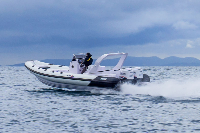 Selva Marine D.900 Special Sea Trial, navigation