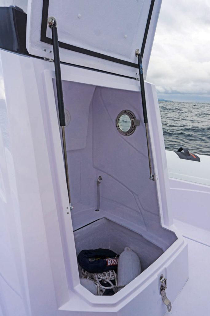 Selva Marine D.900 Special Sea Trial, peak