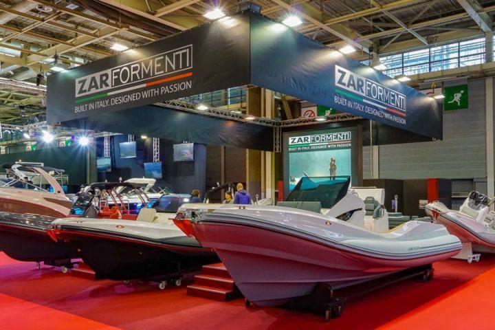 Zar Formenti at Paris Boat Show