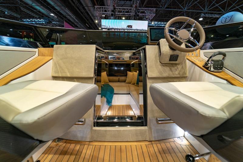 Nerea Yacht NY24 console