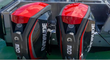 Evinrude 300 engines test