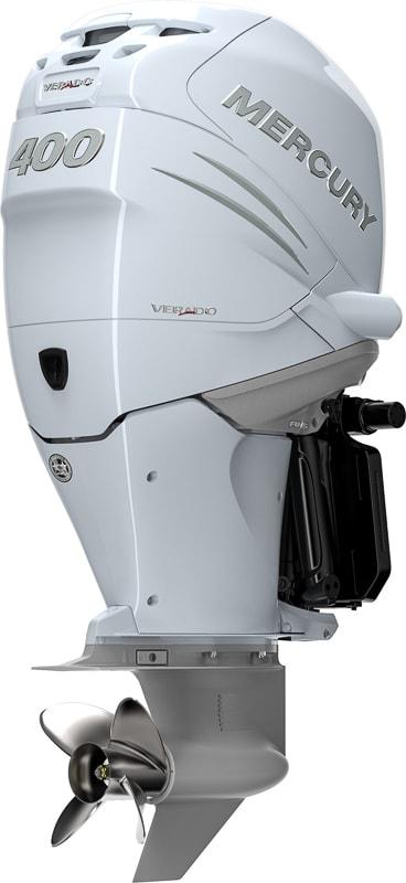 Mercury Verado 400, white version