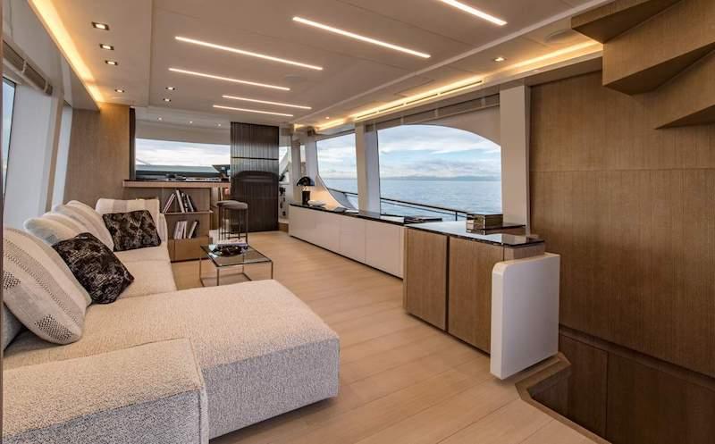 Montecarlo Yachts MCY 70, interiors