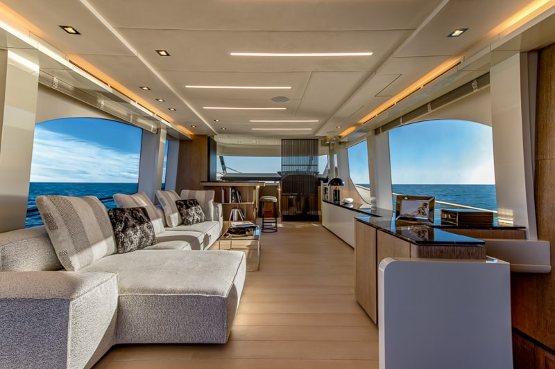 Montecarlo Yachts MCY 70, salon