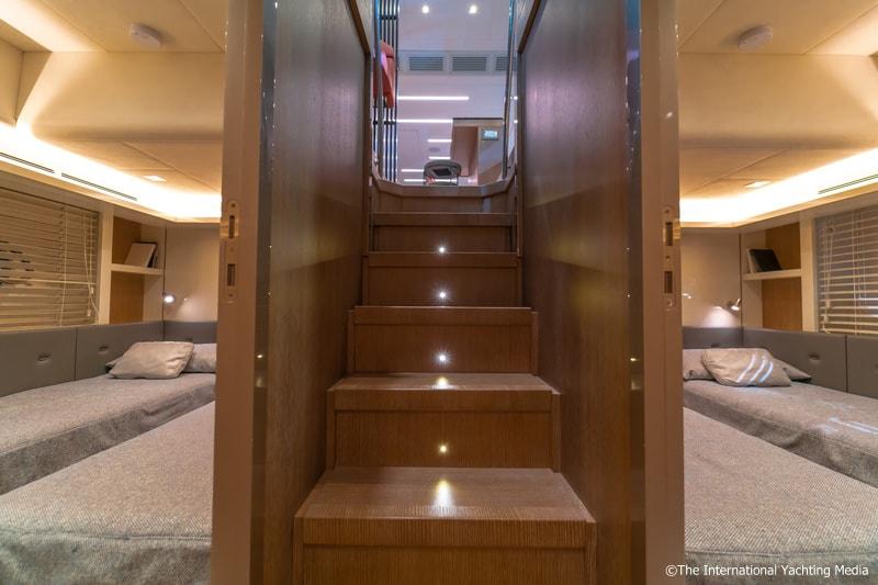 Montecarlo Yachts MCY 70, twin cabin