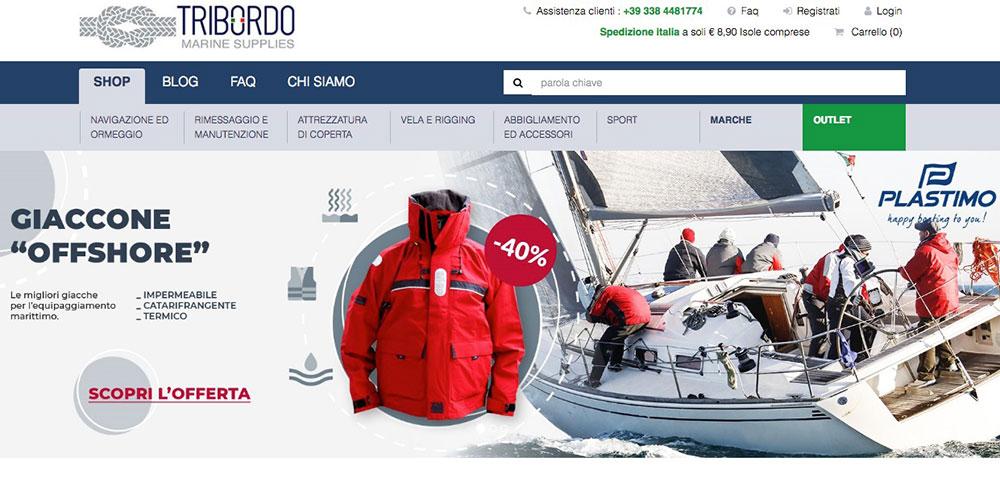 Tribordo Homepage