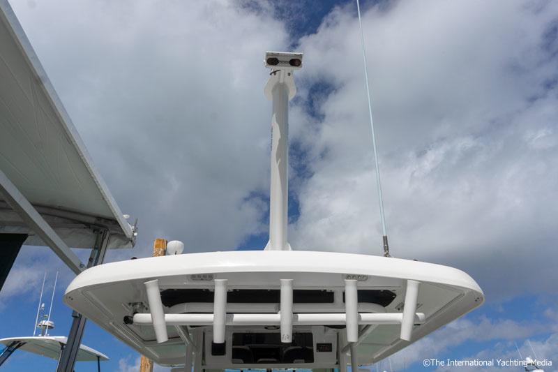 Flir cameras on the bow