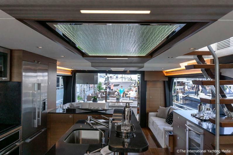 Ocean Alexander 70 interiors