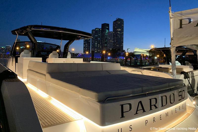 Pardo 50, sun pad