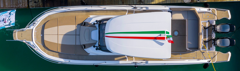 Ranieri Next 370 SH America test