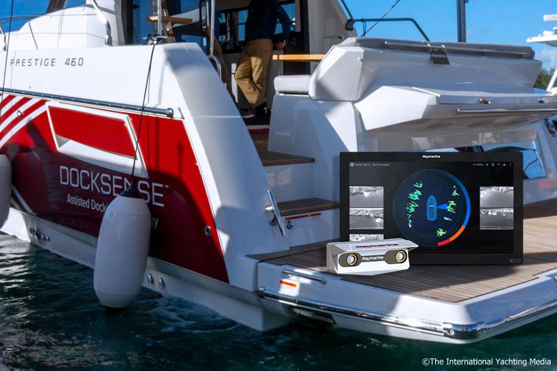 Raymarine DockSense test