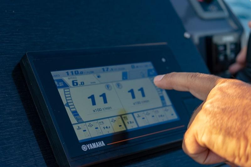 Yamaha 425 V8 XTO Offshore sea trial