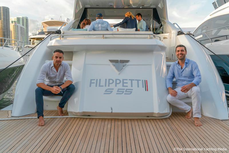 Filippetti S55, Miami Yacht Show