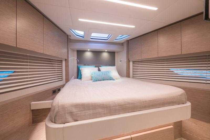 Filippetti S55, VIP cabin