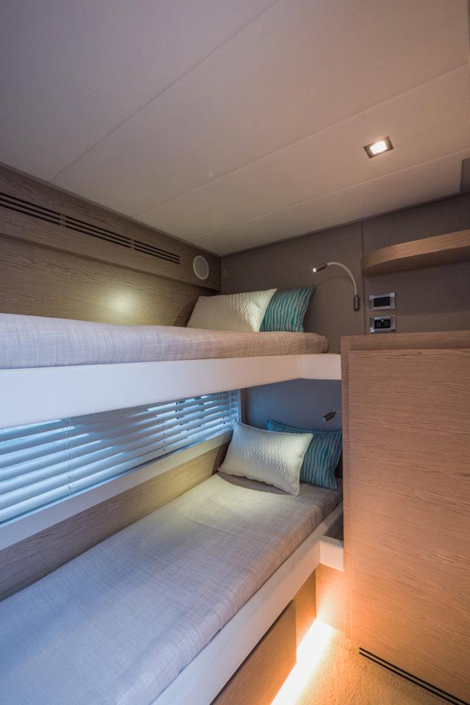 Filippetti S55, double cabin