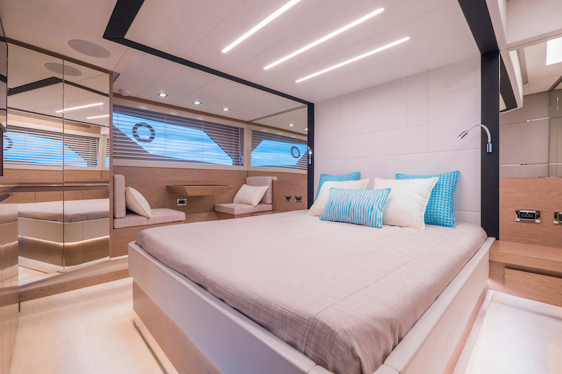 Filippetti S55, master cabin