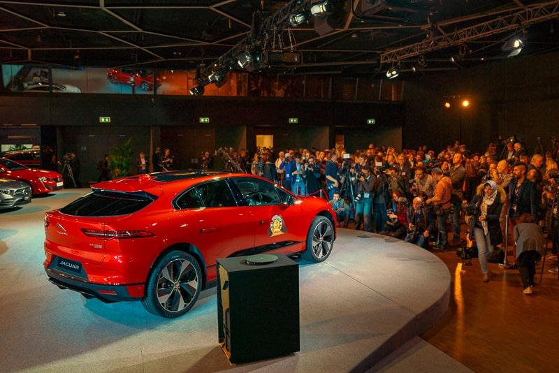 Jaguar I-PACE ECOTY Winner