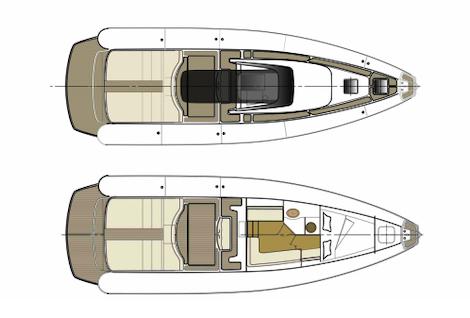 Magazzu MX 13 Coupe, layout