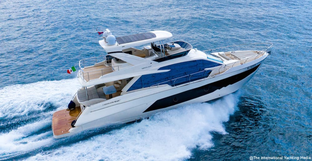 Absolute 62 Fly Sea Trial
