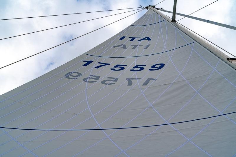 Dacron sails, mainsail