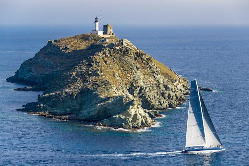 Rolex Giraglia, lighthouse