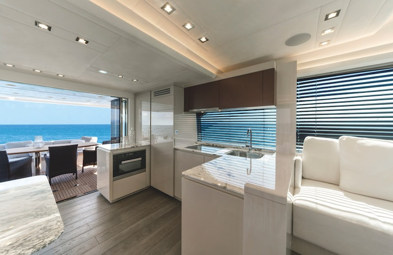 MCY 66, galley