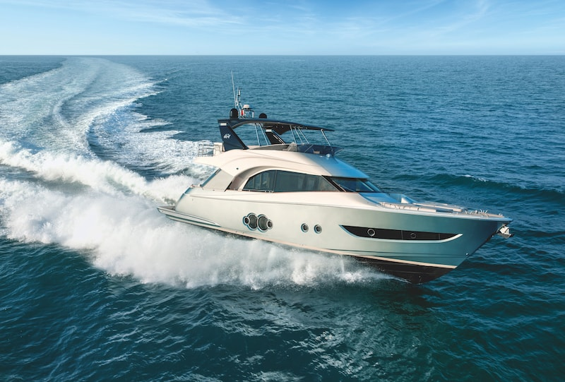 Monte Carlo Yachts MCY 66 sailing