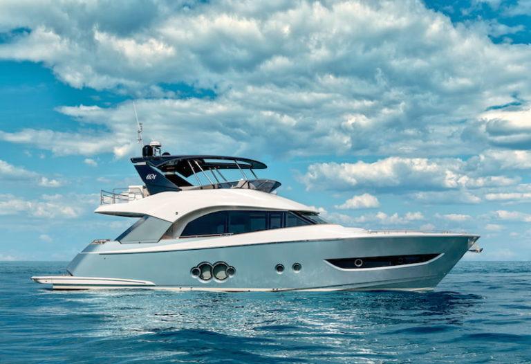 MCY66 at sea