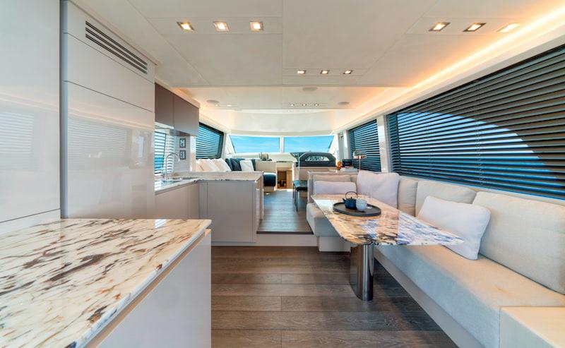 MCY66, interiors