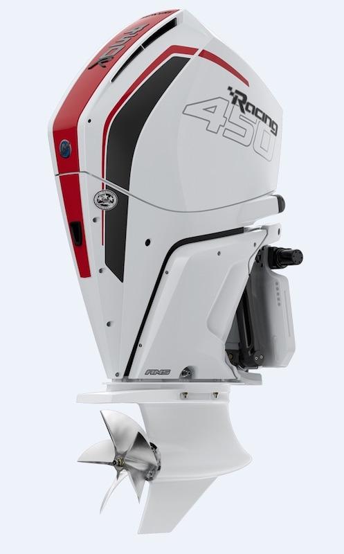 Mercury Racing 450R, white version