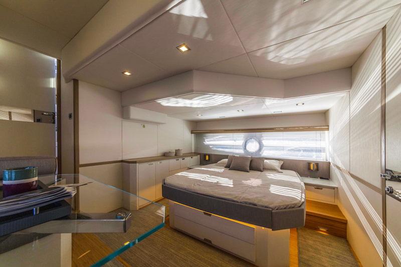 Rio Yachts Sport Coupé 56, master cabin