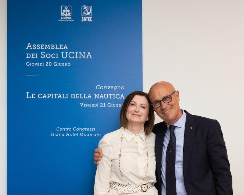 Saverio Cecchi and Carla Demaria