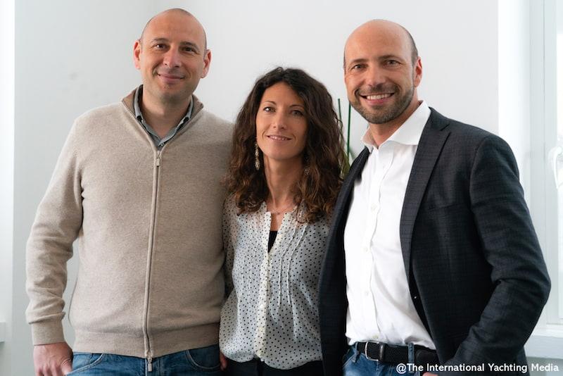 Giorgio, Claudia and Alberto Osculati