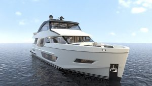 Ocean Alexander 84R bow
