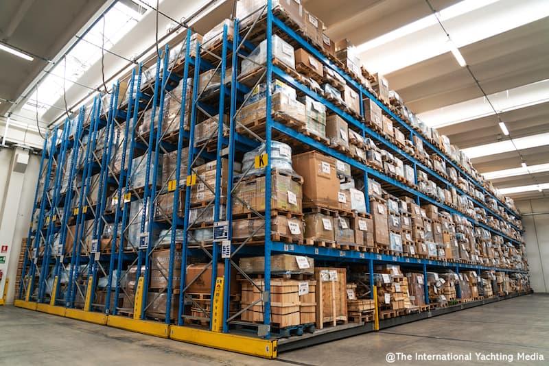 Osculati warehouse