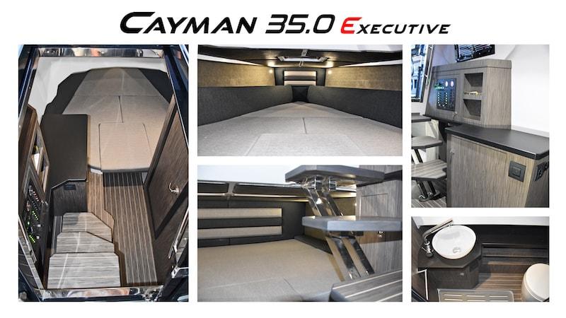 Ranieri Cayman 35.0 Executive, interiors