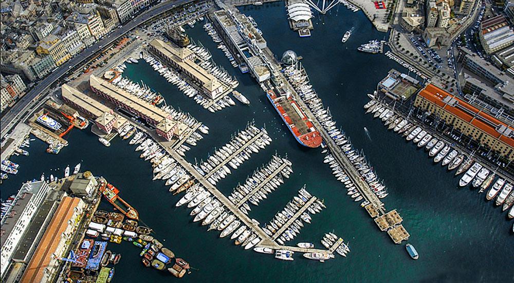 mooring methods, Marina di Porto Antico