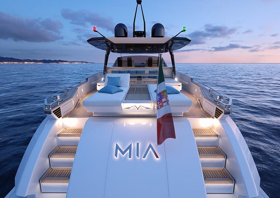 Franchini Mia 6.3, stern