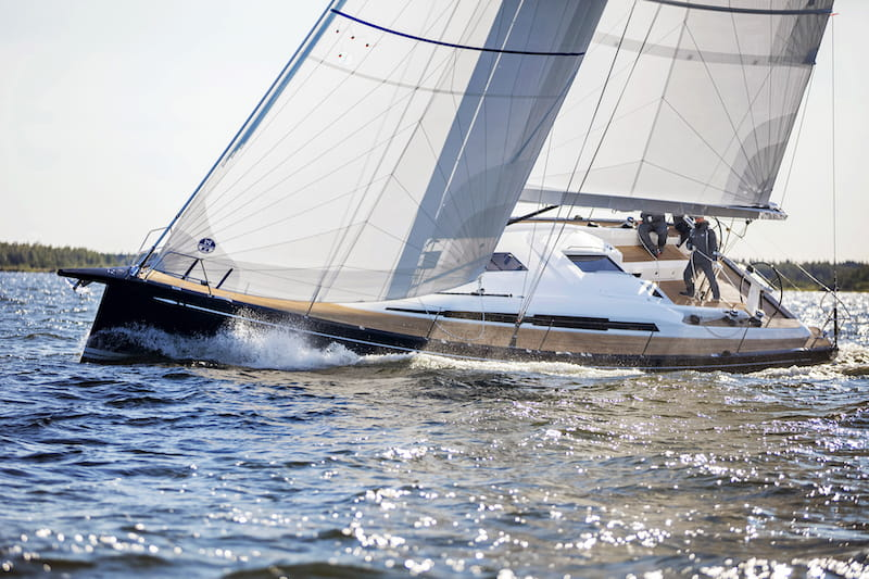 Swan 48 sailing