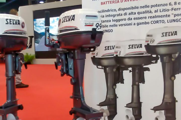 Selva Marine electric starter
