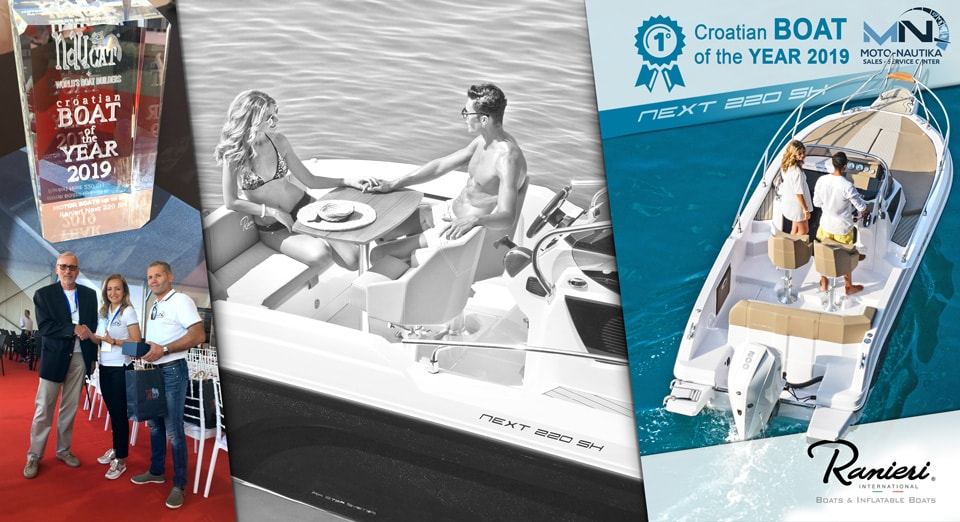 Croatian boat of the year 2019