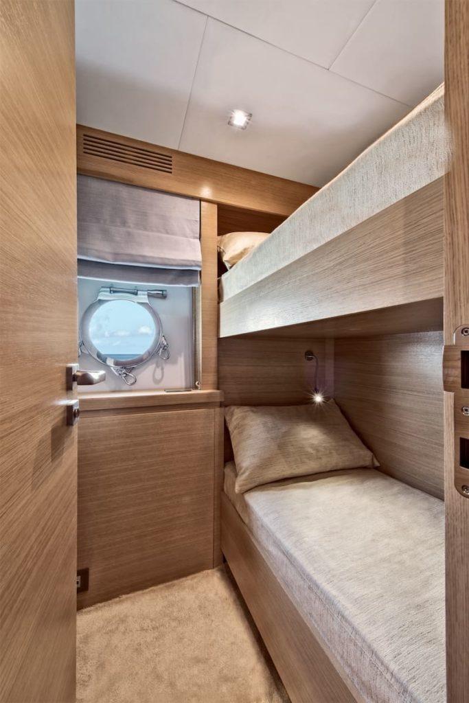 MCY105 Crew cabins