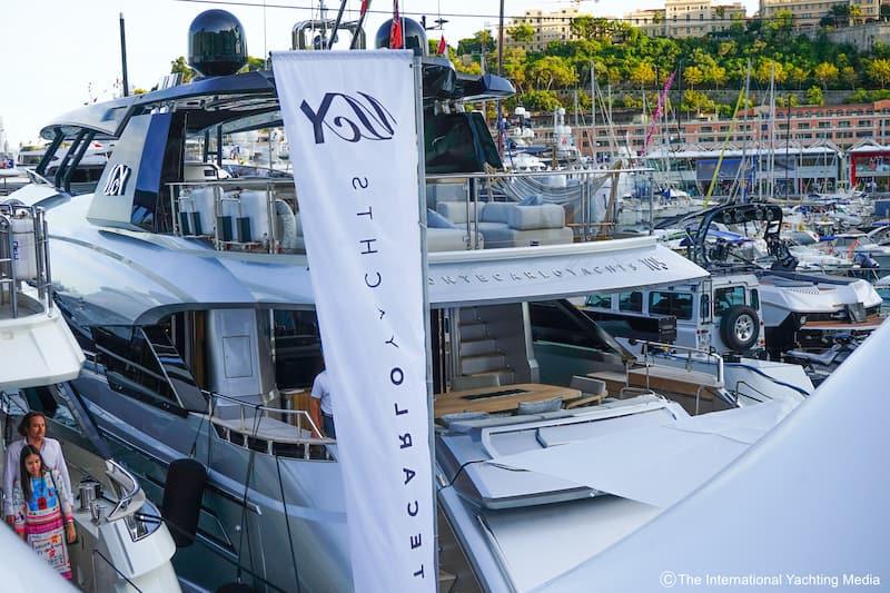 MCY105, Monaco Boat Show